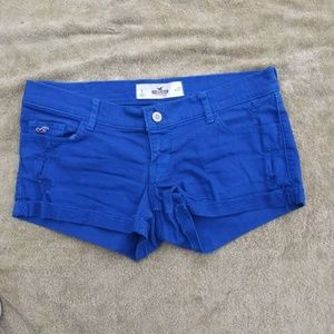 Hollister Factory Distressed Shorts Size 5